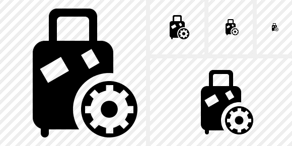 Baggage Settings Icon