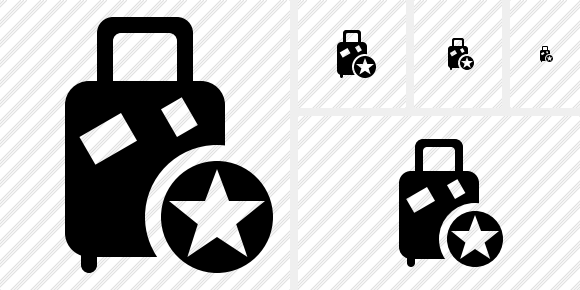 Baggage Star Icon