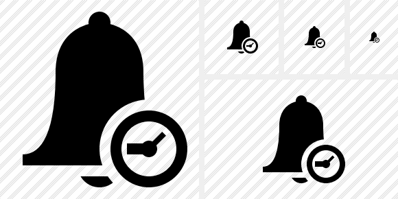 Bell Clock Icon