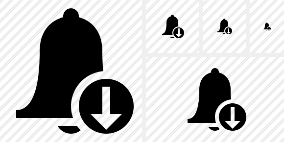 Bell Download Icon
