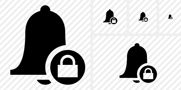 Bell Lock Icon