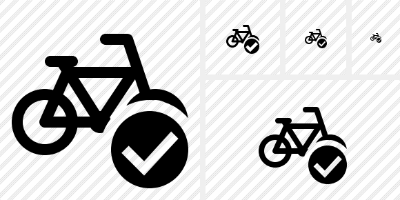 Bicycle Ok Icon