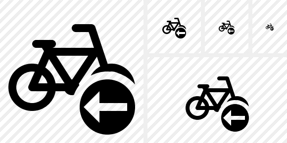 Bicycle Previous Symbol