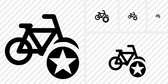 Bicycle Star Symbol