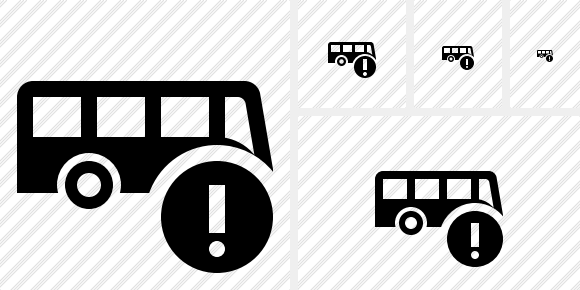 Bus Warning Symbol