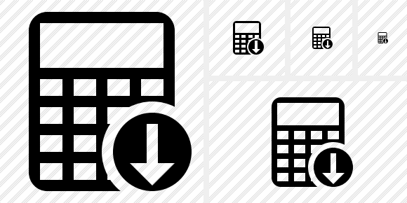 Calculator Download Icon