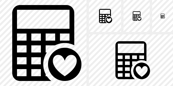 Calculator Favorites Icon