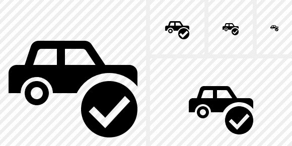 Car Ok Icon
