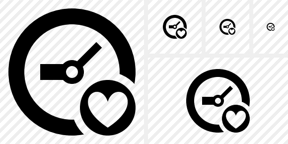 Icône Clock Favorites