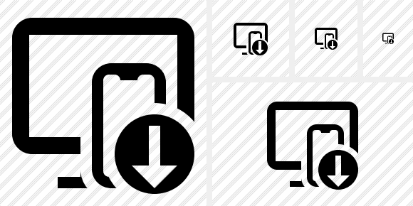 Devices Download Icon