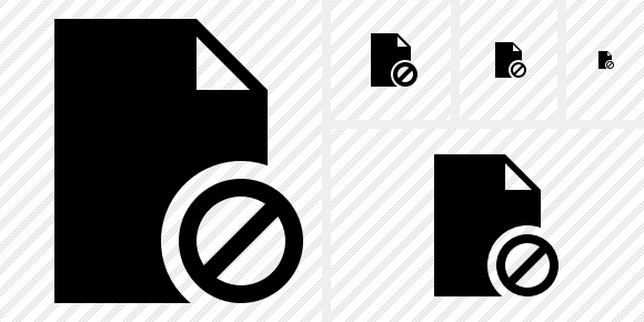 Document Blank Block Icon