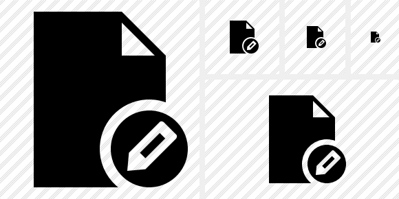 Document Blank Edit Icon