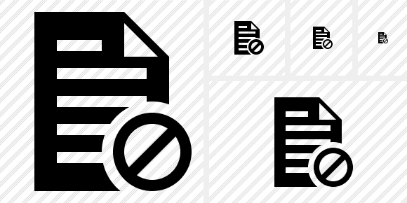 Document Block Icon
