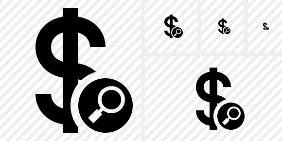 Dollar Search Symbol