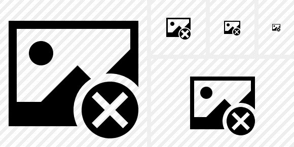 Gallery Cancel Symbol