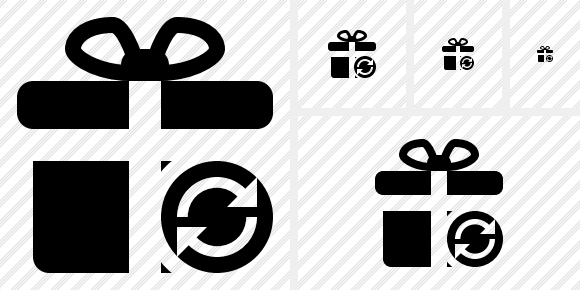 Gift Refresh Icon