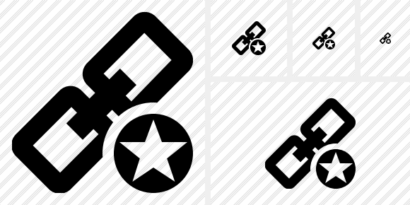 Link Star Icon