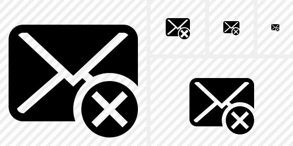 Mail Cancel Symbol