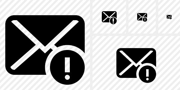Mail Warning Symbol
