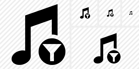 Music Filter Icon