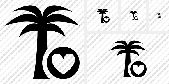 Palmtree Favorites Symbol