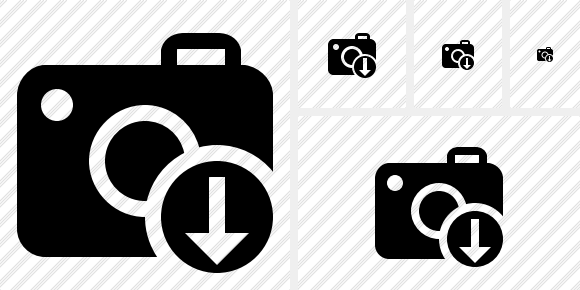 Photocamera Download Icon