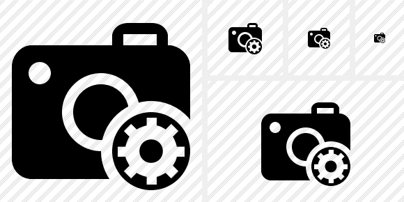 Photocamera Settings Symbol