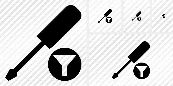 Screwdriver Filter Icon