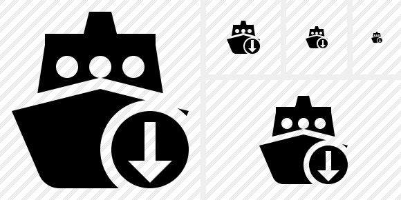 Ship 2 Download Symbol
