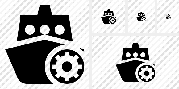 Ship 2 Settings Icon