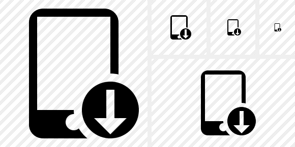 Smartphone Download Symbol