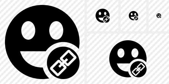 Smile Laugh Link Symbol
