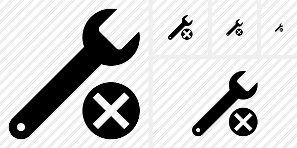 Spanner Cancel Icon
