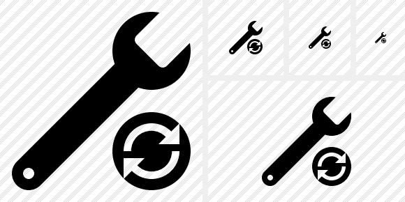 Spanner Refresh Icon