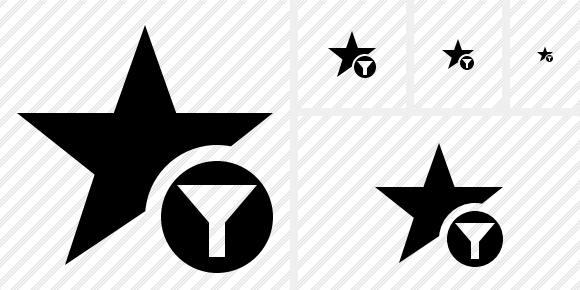 Star Filter Icon