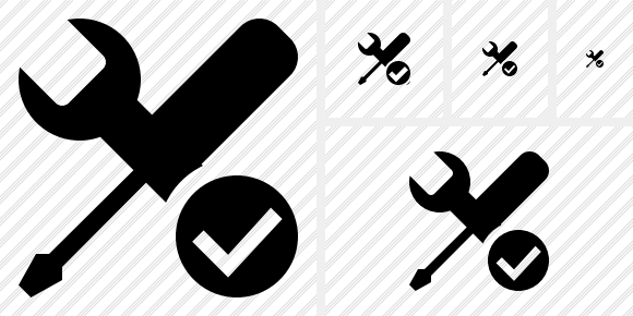 Tools Ok Icon