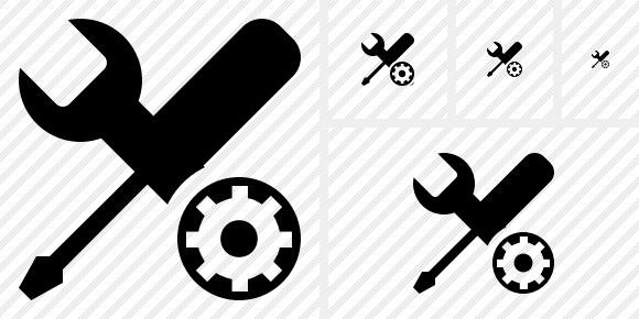 Tools Settings Icon