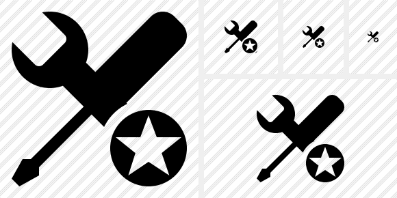Tools Star Icon