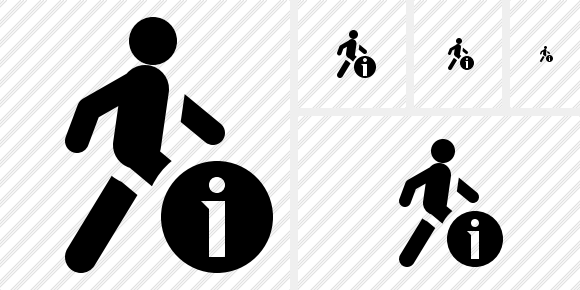 Walking Information Icon