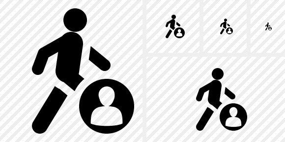 Walking User Icon