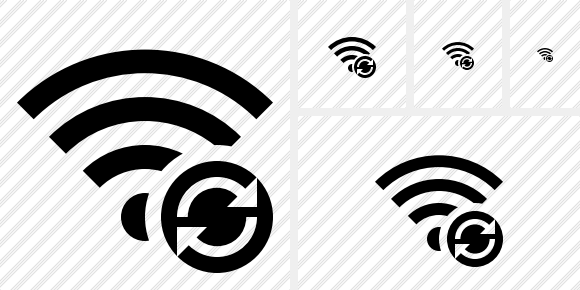 Wi Fi Refresh Icon