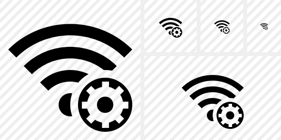 Wi Fi Settings Icon