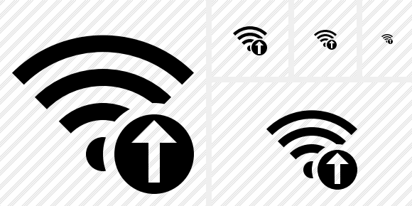 Wi Fi Upload Symbol