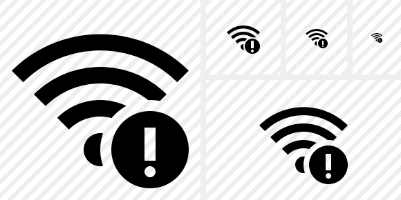 Wi Fi Warning Symbol