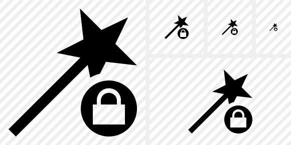 Wizard Lock Icon