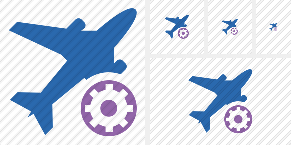 Airplane 2 Settings Icon
