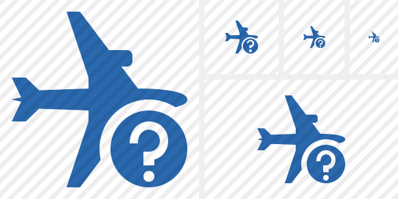 Airplane Horizontal 2 Help Icon