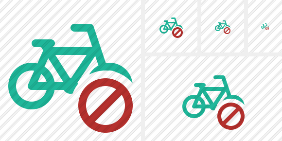 Bicycle Block Icon