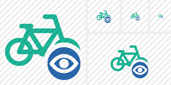 Bicycle View Icon