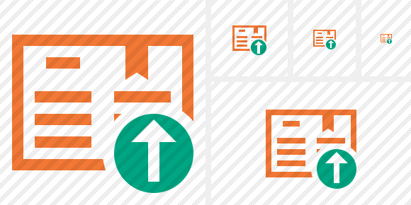 Icône Book Upload